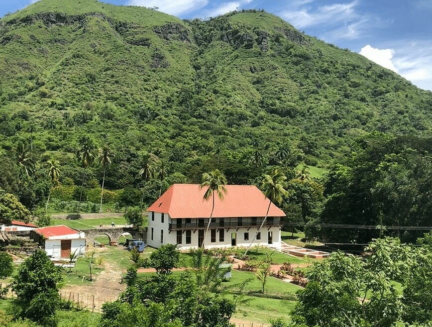 Rombouts and Malongo plantage