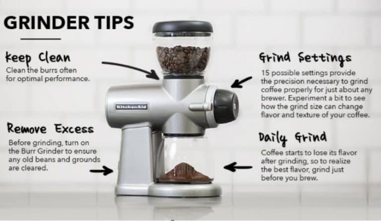 coffee grinder tips