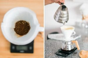 how to grind the coffee for your coffee funnel