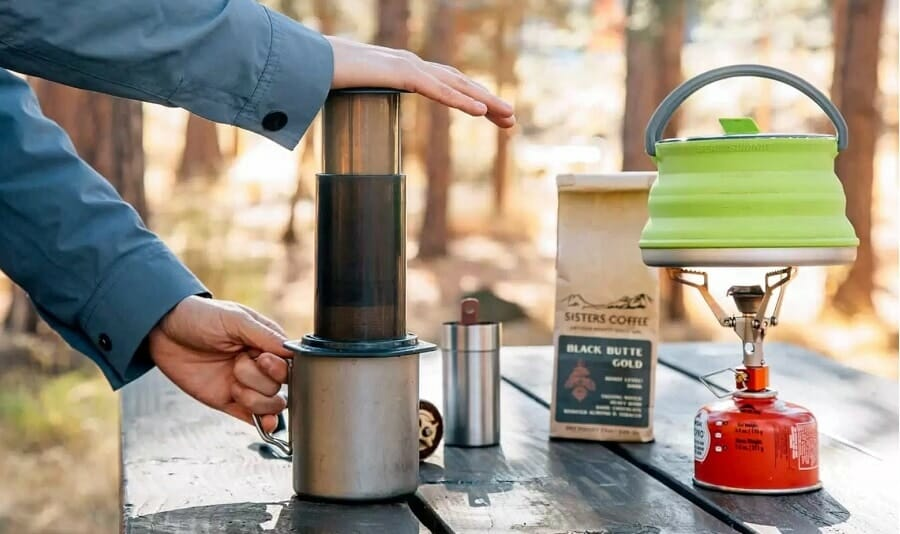 aeropress camping coffee maker
