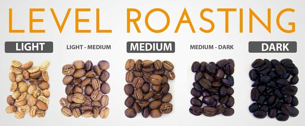 roasting levels