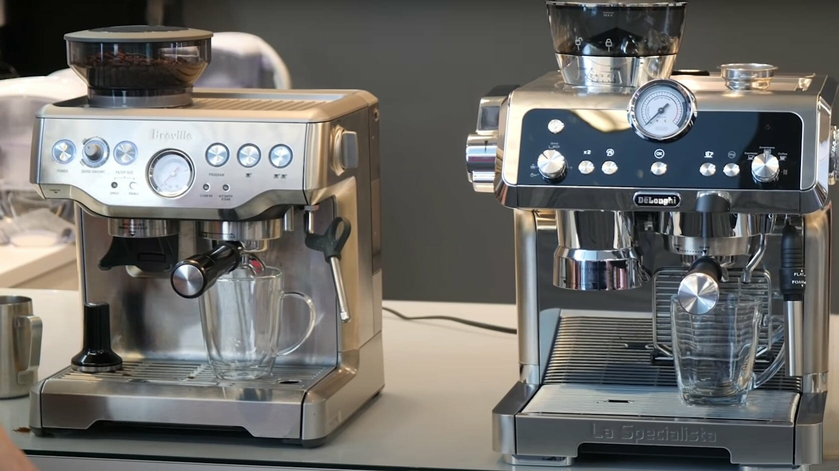 breville express vs delonghi specialty
