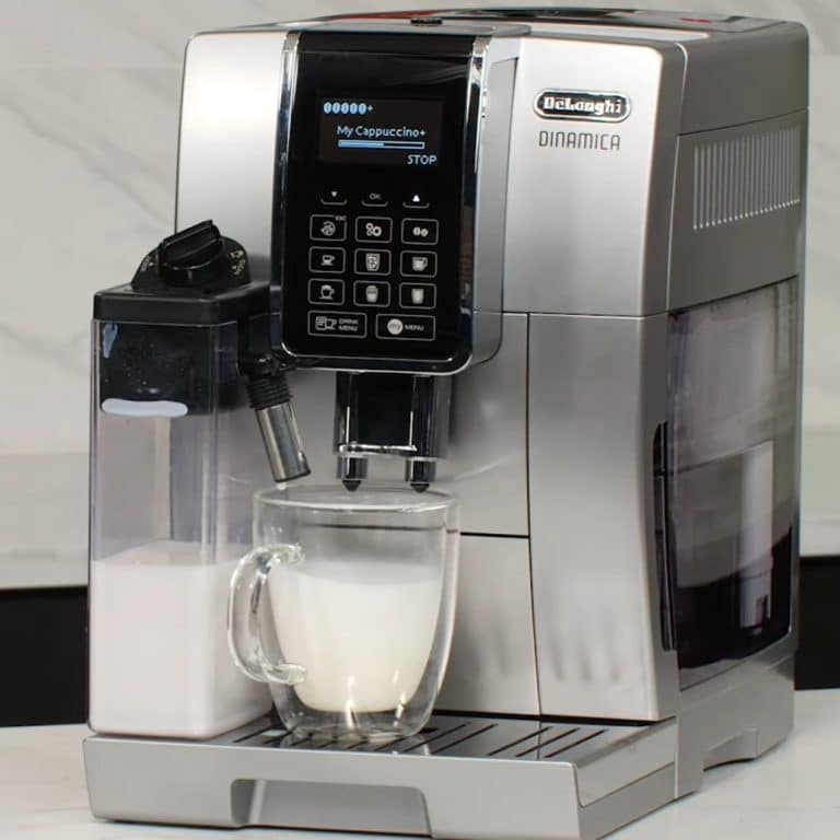 DeLonghi Dinamica With LatteCrema Espresso Machine
