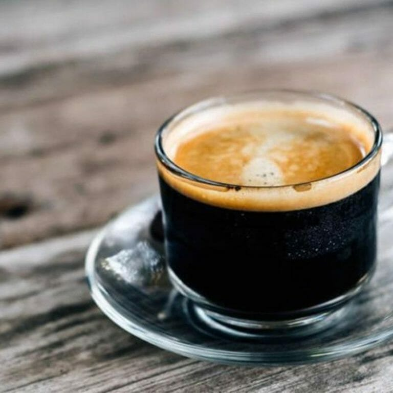 Is there more caffeine in short or long coffee?