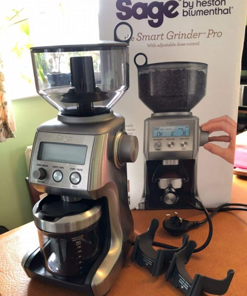 Sage Grinder Pro coffee grinder 1