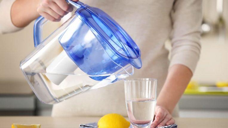 Brita Filtering Water
