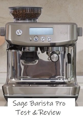 sage barista pro with text